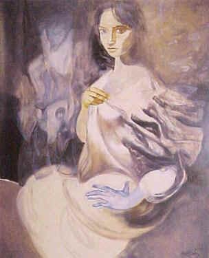 Rollán - Figura de la mano azul